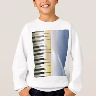 Abstract Music Background Sweatshirt