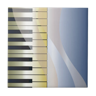 Abstract Music Background Tile