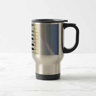 Abstract Music Background Travel Mug