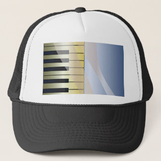 Abstract Music Background Trucker Hat