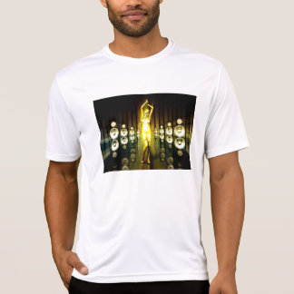 Abstract Music Dance Background for a Music Event T-Shirt