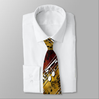 Abstract Music Tie