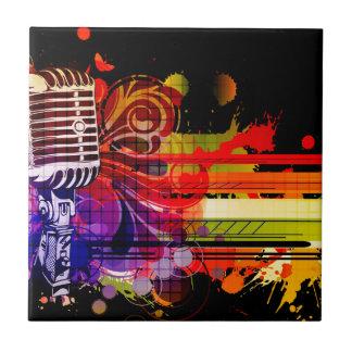 Abstract Music Tile