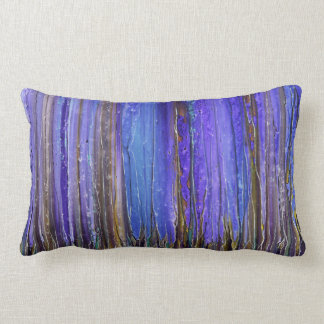 Abstract mystic pattern pillow