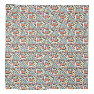 Abstract Native Pattern duvet covers
