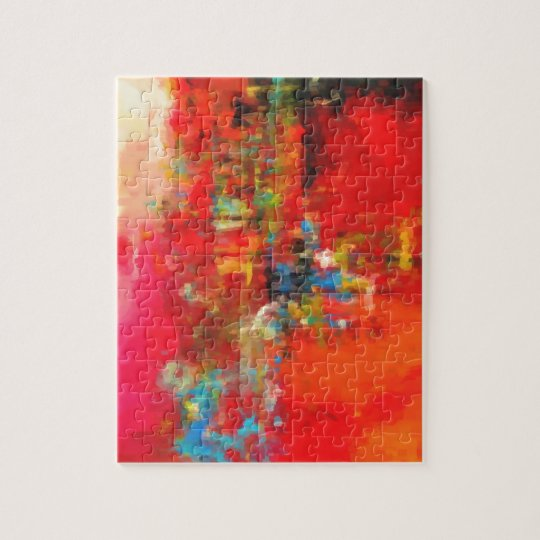 Abstract Nature Landscape creation Jigsaw Puzzle