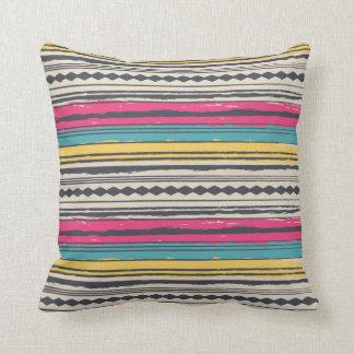 Abstract Navajo Design 1 Throw Pillow