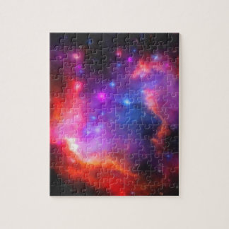 Abstract Nebula of Magellanic Cloud Jigsaw Puzzle