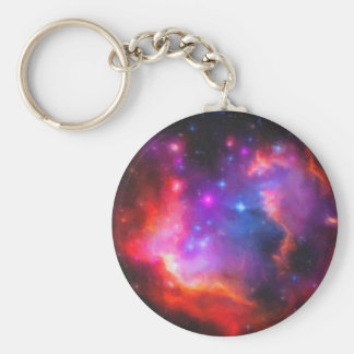 Abstract Nebula of Magellanic Cloud Keychain