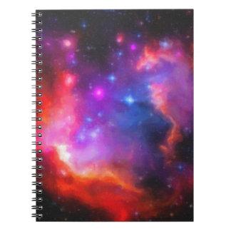 Abstract Nebula of Magellanic Cloud Notebook
