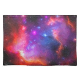 Abstract Nebula of Magellanic Cloud Placemat