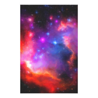 Abstract Nebula of Magellanic Cloud Stationery
