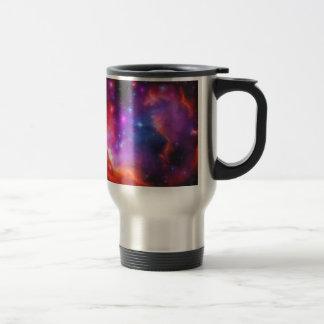 Abstract Nebula of Magellanic Cloud Travel Mug