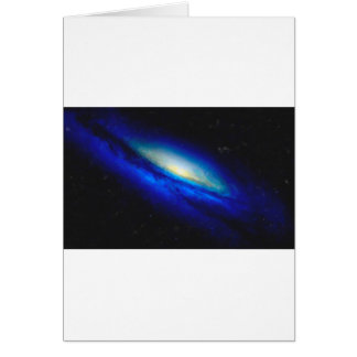 Abstract Nebulla with Galactic Cosmic Cloud 26 Card
