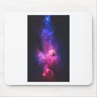 Abstract Nebulla with Galactic Cosmic Cloud 27 Mouse Pad