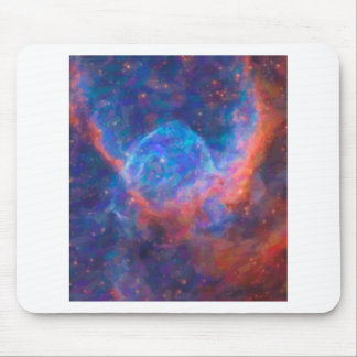 Abstract Nebulla with Galactic Cosmic Cloud 29 Mouse Pad