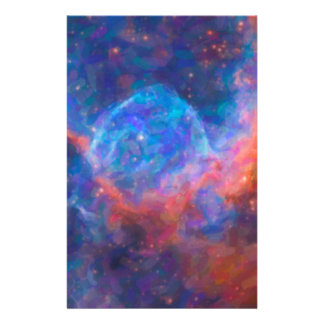 Abstract Nebulla with Galactic Cosmic Cloud 29 Stationery