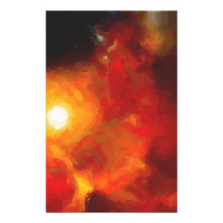 Abstract Nebulla with Galactic Cosmic Cloud 30 Stationery