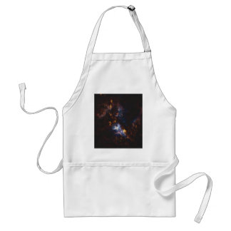 Abstract Nebulla with Galactic Cosmic Cloud 34 Standard Apron