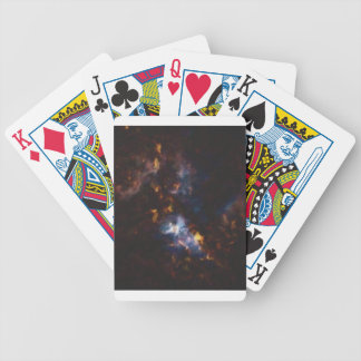 Abstract Nebulla with Galactic Cosmic Cloud 34 xl. Bicycle Playing Cards