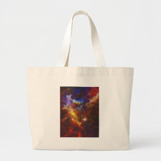 Abstract Nebulla with Galactic Cosmic Cloud 37 Large Tote Bag