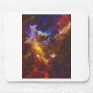 Abstract Nebulla with Galactic Cosmic Cloud 37 Mouse Pad