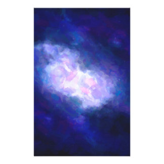 Abstract Nebulla with Galactic Cosmic Cloud 38 Stationery