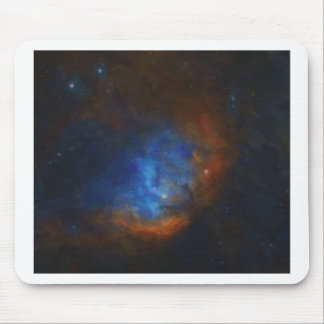 Abstract Nebulla with Galactic Cosmic Cloud 39 Mouse Pad