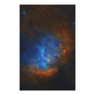 Abstract Nebulla with Galactic Cosmic Cloud 39 Stationery