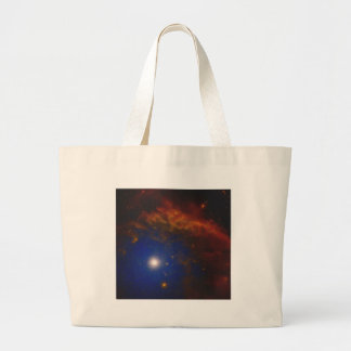 Abstract Nebulla with Galactic Cosmic Cloud 40 Large Tote Bag