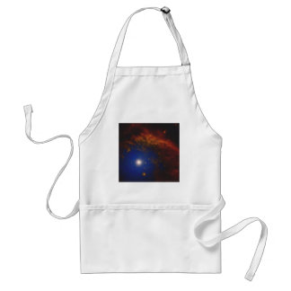 Abstract Nebulla with Galactic Cosmic Cloud 40 Standard Apron