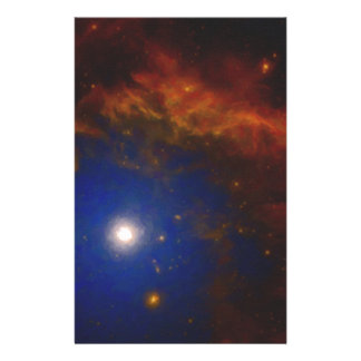 Abstract Nebulla with Galactic Cosmic Cloud 40 Stationery