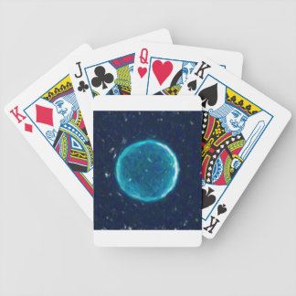 Abstract Nebulla with Galactic Cosmic Cloud 41 Cir Bicycle Playing Cards