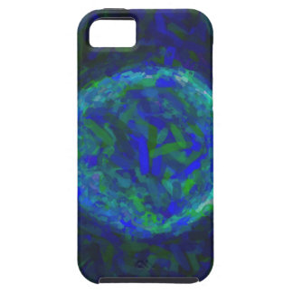 Abstract Nebulla with Galactic Cosmic Cloud 41 Cir iPhone 5 Case