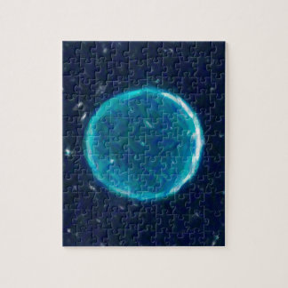 Abstract Nebulla with Galactic Cosmic Cloud 41 Cir Jigsaw Puzzle
