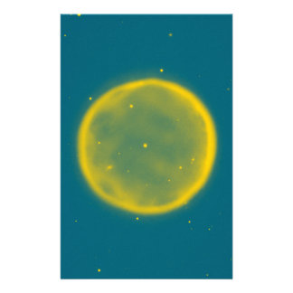 Abstract Nebulla with Galactic Cosmic Cloud 41 Cir Stationery