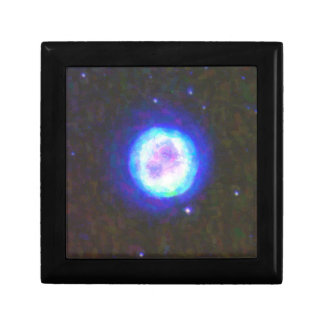 Abstract Nebulla with Galactic Cosmic Cloud 42 Sph Gift Box