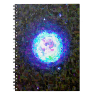 Abstract Nebulla with Galactic Cosmic Cloud 42 Sph Notebook