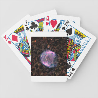 Abstract Nebulla with Galactic Cosmic Cloud 43 Sph Bicycle Playing Cards