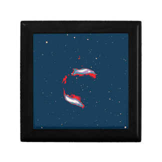 Abstract Nebulla with Galactic Cosmic Cloud 43 Sph Gift Box
