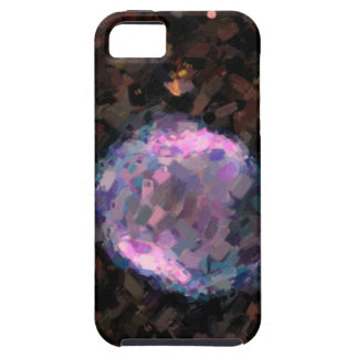 Abstract Nebulla with Galactic Cosmic Cloud 43 Sph iPhone 5 Case