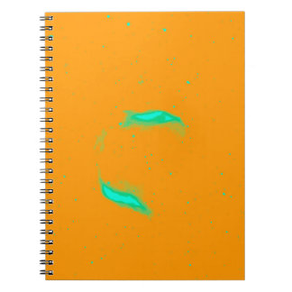 Abstract Nebulla with Galactic Cosmic Cloud 43 Sph Notebook