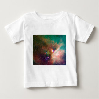 Abstract Nebulla with Galactic Cosmic Cloud 44 med Baby T-Shirt