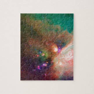 Abstract Nebulla with Galactic Cosmic Cloud 44 med Jigsaw Puzzle