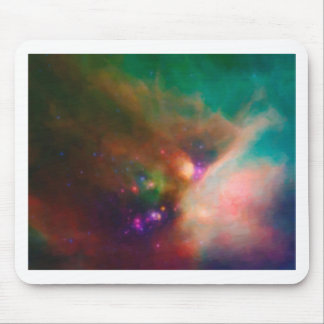 Abstract Nebulla with Galactic Cosmic Cloud 44 med Mouse Pad