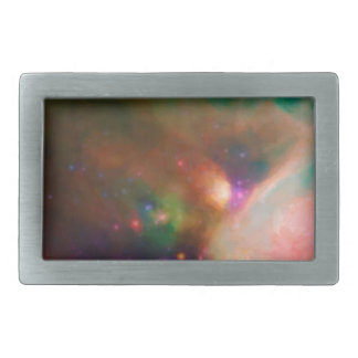 Abstract Nebulla with Galactic Cosmic Cloud 44 med Rectangular Belt Buckle