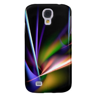 Abstract Neon Colors Samsung Galaxy S4 Case