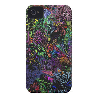 abstract neon Iphone case