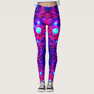 Abstract Neon Leggings