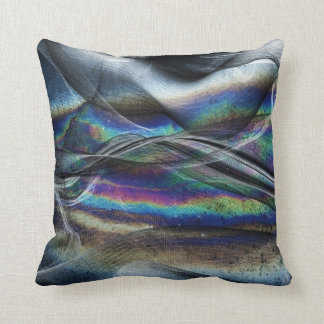 Abstract Net Swirl Throw pillow